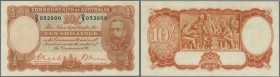 Australia: 10 Shillings ND(1936-39) P. 21, issued in the depression era when 10 Shillings were 3-4 days wages for labourers. This note has the Riddle-...