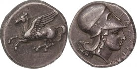SICILY, SYRACUSE, Timoleon and the Third Democracy, c. 344-317 BC. AR stater.