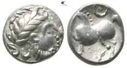 Eastern Europe. Imitation of Philip II of Macedon circa 300-100 BC. Drachm AR