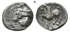 Eastern Europe. Imitation of Philip II of Macedon 200-100 BC. Obol AR
