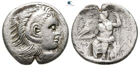Eastern Europe. Imitations of Alexander III and his successors 200-100 BC. Drachm AR
