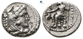 "Kings of Macedon. Tarsos. Alexander III ""the Great"" 336-323 BC. Hemidrachm AR"