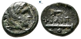 Kings of Macedon. Uncertain mint. Philip II of Macedon 359-336 BC. Bronze Æ