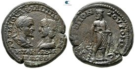Moesia Inferior. Tomis. Philip I and Otacilia Severa AD 244-249. Bronze Æ