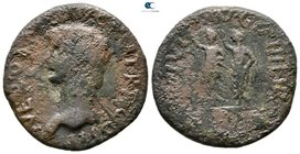 Macedon. Philippi. Nero AD 54-68. Bronze Æ