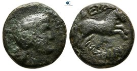 Macedon. Thessalonica. Pseudo-autonomous issue 27 BC-AD 14. Bronze Æ
