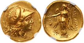Macedonian Kingdom. Alexander III 'the Great'. Gold Stater (8.61 g), 336-323 BC