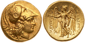 Macedonian Kingdom. Philip III Arrhidaios. Gold Stater (8.60 g), 323-317 BC. MS