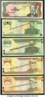 A Selection of Nine Specimen Notes from the Dominican Republic. Crisp Uncirculated or Better, 4 POCs.   HID09801242017