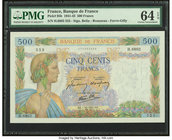 France Banque de France 500 Francs 10.1.1942 Pick 95b PMG Choice Uncirculated 64 EPQ.   HID09801242017