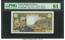 France Banque de France 5 Francs 6.2.1969 Pick 146b PMG Choice Uncirculated 64.   HID09801242017