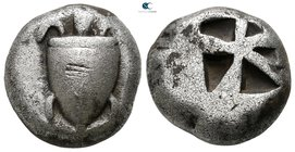 Islands off Attica. Aegina circa 525-480 BC. Stater AR