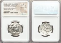 MACEDONIAN KINGDOM. Alexander III the Great (336-323 BC). AR tetradrachm (26mm, 16.99 gm, 11h). NGC XF 3/5 - 3/5. Posthumous issue of Ake or Tyre, dat...