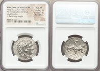 MACEDONIAN KINGDOM. Philip III Arrhidaeus (323-317 BC). AR tetradrachm (27mm, 17.01 gm, 2h). NGC Choice XF, 5/5 - 4/5, Fine Style. Babylon, ca. 323-31...