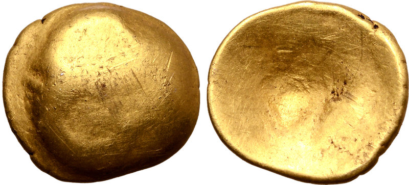 Central Europe, the Vindelici AV 1/4 Stater. Regenbogenschüsselchen Type ? Circa...
