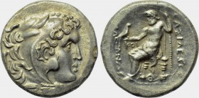 EASTERN EUROPE. Imitation of Alexander III 'the Great' of Macedon (3rd-2nd centuries BC). Tetradrachm.