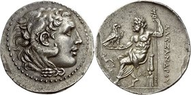 Alexander III, 336 – 323 and posthumous issues
