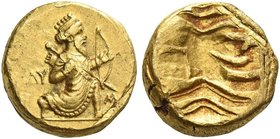 Alexandrine Empire, Satraps of Baylonia under Alexander III. Uncertain Satrap Double daric circa 323, AV 16.14 g. The Great King advancing r., holding...