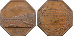 Paris, Association des ponts de fer sur la Seine, An 9 (1801) Paris
