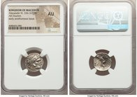 MACEDONIAN KINGDOM. Alexander III the Great (336-323 BC). AR drachm (18mm, 10h). NGC AU. Posthumous issue of Lampsacus, ca. 310-301 BC. Head of Heracl...