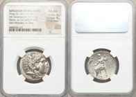 MACEDONIAN KINGDOM. Philip III Arrhidaeus (323-317 BC). AR tetradrachm (26mm, 17.11 gm, 12h). NGC Choice AU 4/5 - 4/5, Fine Style. Lifetime issue of S...