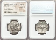 MACEDONIAN KINGDOM. Philip III Arrhidaeus (323-317 BC). AR tetradrachm (26mm, 16.87 gm, 2h). NGC Choice XF 5/5 - 3/5. Babylon. Head of Heracles right,...