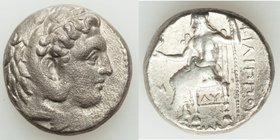 MACEDONIAN KINGDOM. Philip III Arrhidaeus (323-317 BC). AR tetradrachm (23mm, 16.81 gm, 10h). Choice VF. Babylon. Head of Heracles right, wearing lion...