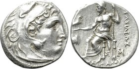 KINGS OF THRACE (Macedonian). Lysimachos (305-281 BC). Drachm. Magnesia.