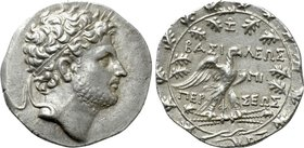KINGS OF MACEDON. Perseus (179-168 BC). Tetradrachm. Pella or Amphipolis. Zoilos, magistrate.