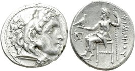 KINGS OF MACEDON. Philip III Arrhidaios (323-317 BC). Drachm. Kolophon.