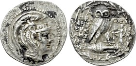 ATTICA. Athens. Tetradrachm (139/8 BC). New Style Coinage. Herakleides, Eikles and [...], magistrates.