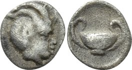 ASIA MINOR. Uncertain. Hemiobol (4th century BC).