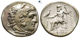 Kings of Macedon. Abydos (?). Philip III Arrhidaeus 323-317 BC. In the types of Alexander III. Drachm AR