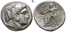 Kings of Macedon. Amphipolis. Philip III Arrhidaeus 323-317 BC. In the name and types of Alexander III. Struck under Antipater, circa 322-320 BC. Tetr...