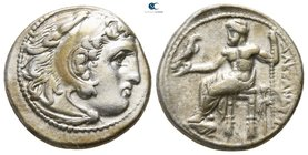 "Kings of Macedon. Magnesia ad Maeandrum. Alexander III ""the Great"" 336-323 BC. Struck circa 323-319 BC. Drachm AR"