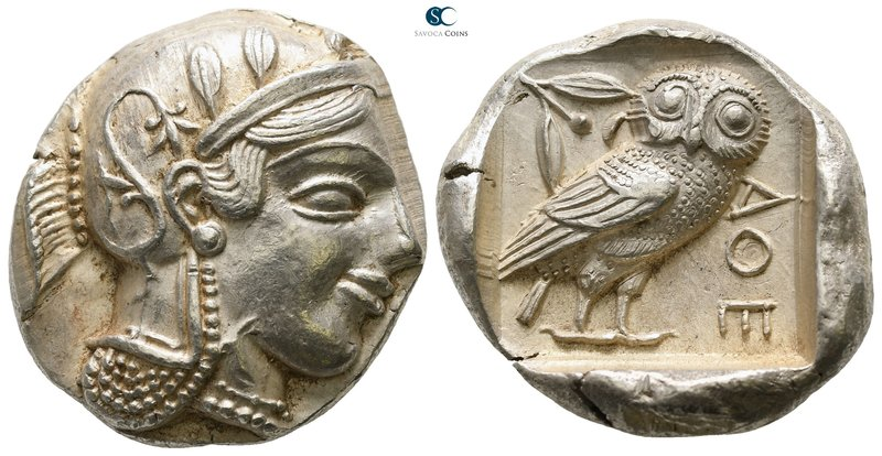 Attica. Athens 455-449 BC. 