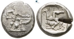 Pamphylia. Aspendos 465-430 BC. Stater AR