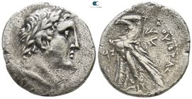 Phoenicia. Tyre circa 126 BC-AD 65. Dated CY 97 = (BC 30/29). Shekel AR
