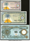 Biafra Bank of Biafra 5 Shillings; 1 Pound; 10 Pounds ND (1967-69) Pick 1; 2; 7b Three Examples Crisp Uncirculated.   HID09801242017