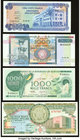 Burundi Group Lot of 4 Examples Crisp Uncirculated. Picks 30a, 31b, 39a, and 40.  HID09801242017