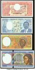 Central Africa Group Lot of 4 Examples Crisp Uncirculated.   HID09801242017