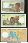Comoros Group Lot of 3 Examples Crisp Uncirculated. Picks 11, 12, and 14.  HID09801242017