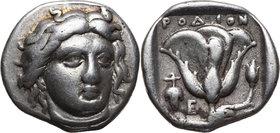 Greece, Rhodos, Didrachm (Stater) 387-304 BC