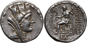 Greece, Syria, Seleukis and Pieria, Laodikeia, Tetradrachm (before 47 BC)