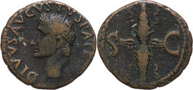 Roman Empire, Augustus (27 BC-AD 14), posthumouss issue under Tiberius 14-37, As, Rome