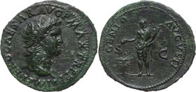 Roman Empire, Neron 54-68, As, Lugdunum
