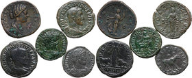 Roman Empire, lot 5 coins