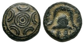"Kings of Macedon. Alexander III ""the Great"" 336-323 BC.Bronze Æ  Condition: Very Fine  Weight: 4.93gr Diameter: 13.11mm"