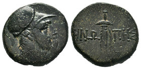 PAPHLAGONIA, Sinope. Circa 85-65 BC. Æ bronze  Condition: Very Fine  Weight: 7.98gr Diameter: 21.23 mm  From a Private UK Collection.