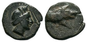Pisidia. Keraitai 40-32 BC.  Condition: Very Fine  Weight: 2.57gr Diameter: 14.52mm  From a Private DUTCH Collection.